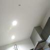 キッチン大改造《3》~自力!天井と壁のペンキ・柱の再生・フローリングの上張り~