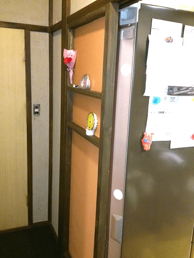 キッチンDIY大作戦 手作り壁